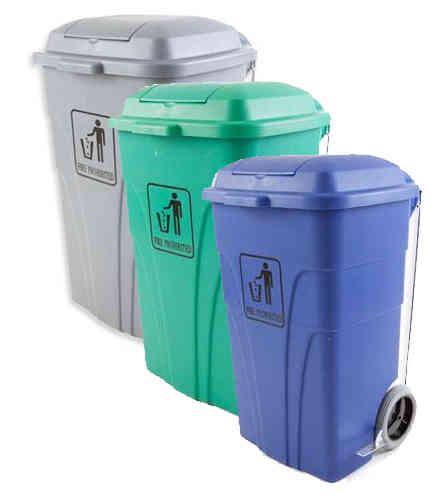 Cubos y contenedores de basura for Cubos de basura con pedal